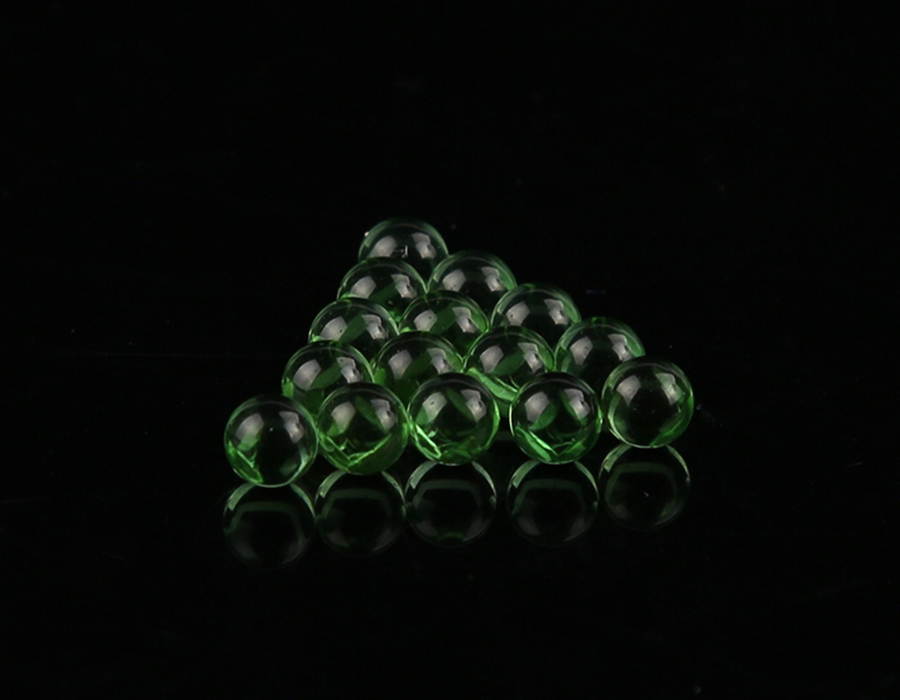 5mm Manufacturer High Quality Green Glass Ball
