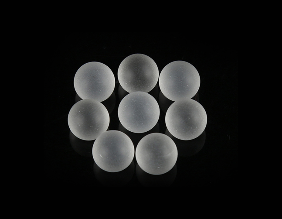 (2mm-13mm) 10mm Frosted Glass Ball For Cosmetic Bottles Foam Pump Parts