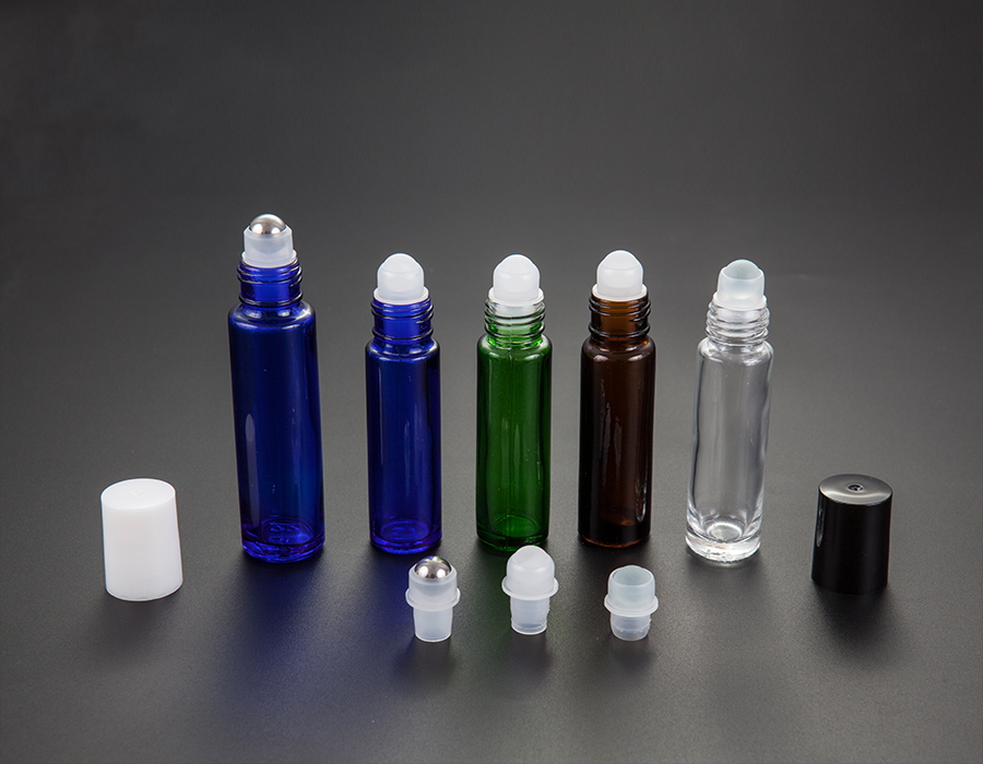 8ml 10ml 15ml on glass perfume bottle with roller ball(glass ball/steel ball /plastic ball)